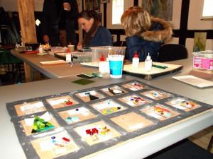 Glasworkshop i Sulelængen var en af de mange populære aktiviteter.