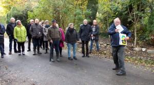 Ca. 25 deltagere havde fundet vej til Voldtofte og Ingemann.