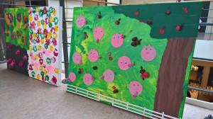 Kreative og flotte tegninger havde børnene lavet til tegnekonkurrencen.