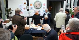 Tillykke til Inge Lise Schytte der vandt æblekagekonkurrencen.